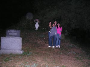 Ghost picture - Blooming Grove, New York