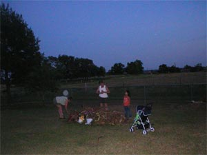 Ghost picture - Navasota, Texas