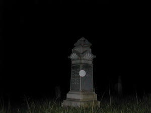 Paranormal photo outline - New Carlisle, Ohio.