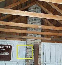 Ghost picture - orb in Fort Lincoln, Maryland