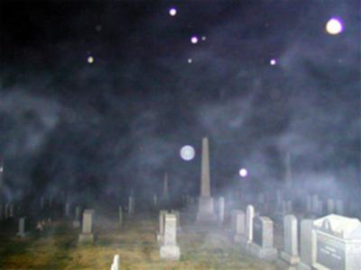 Capturing ghosts or spirits with a camera for